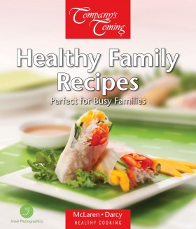 Healthy Family Recipes Book Cover