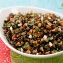 wild rice & lentil pilaf