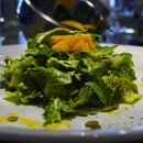 press salad - saffron vinaigrette