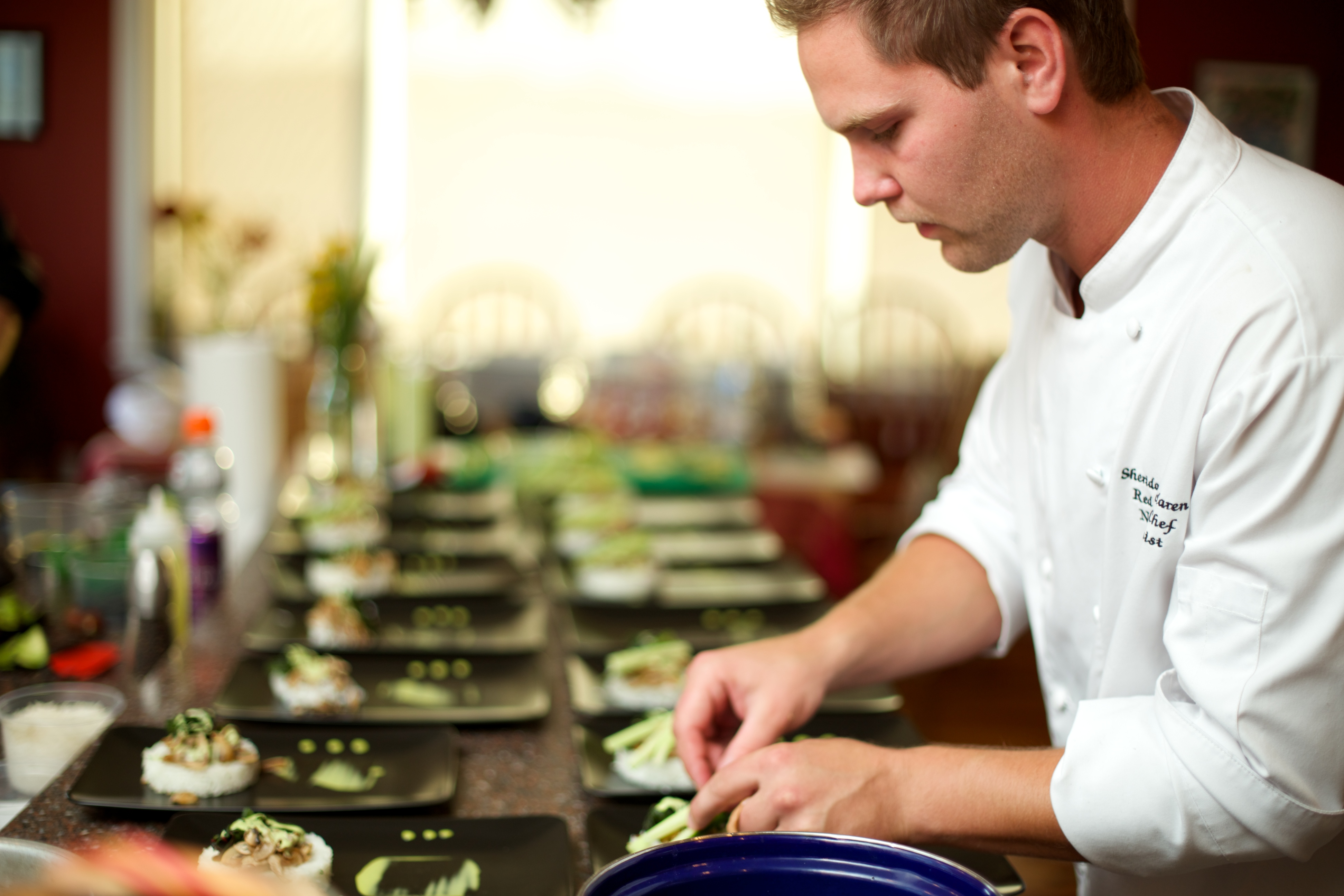all the comforts of home personal chef As the concierge chef it is my goal to provide clients with delicious and healthy cuisine for a variety of events all in the comfort of your own home with an emphasis on local and seasonal ingredients, i work closely with each client to develop menus that satisfy their tastes and needs.